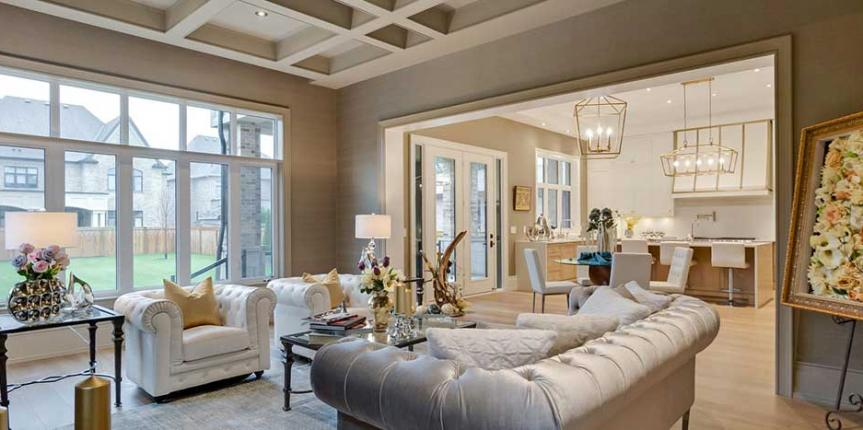 How to mix and match patterns in home staging