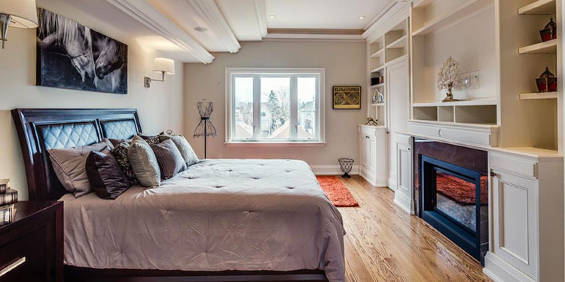 Staging a Serene Master Bedroom