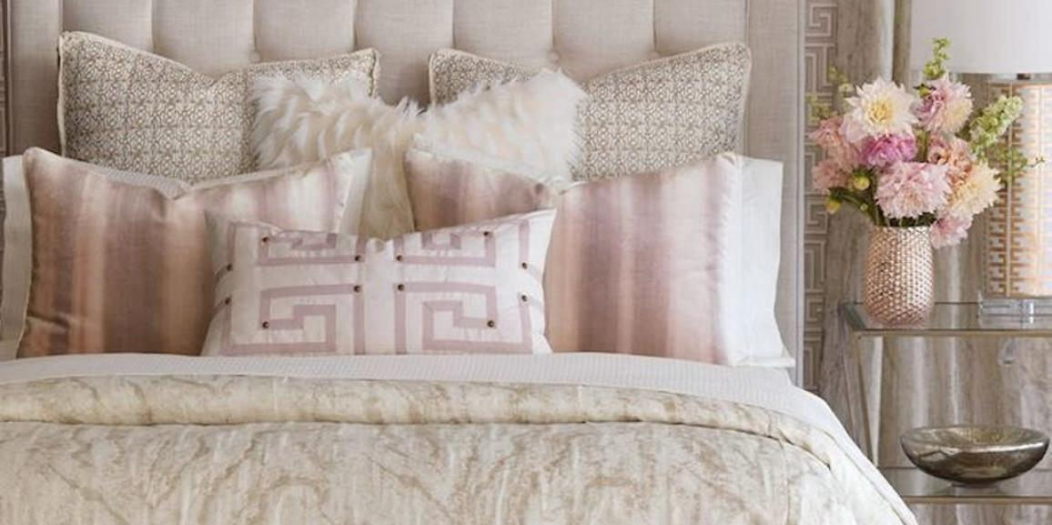The art of pillow placement in home staging